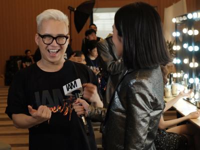 Backstage Beauty Chung Thanh Phong Fashion Show S/S2020 IAM Superstar X IAM Cosmetics